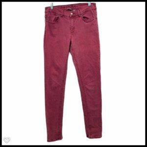 i Jeans by Buffalo Jeans Skinny Red Women 29